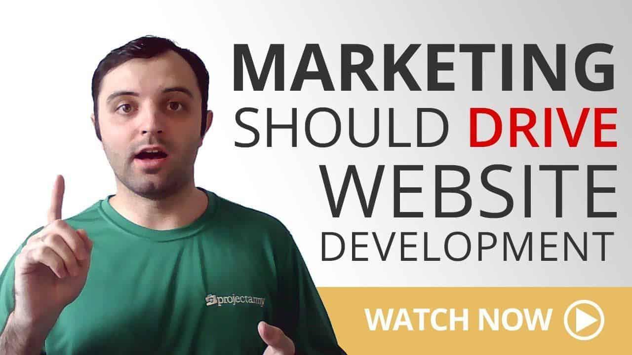 Let Marketing Guide Your WordPress Website Development